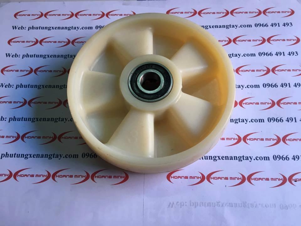 Bánh xe Nilon 180x50mm- bánh xe nâng tay